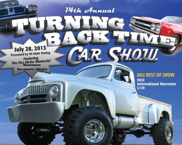 Turning Back Time Car Show 2013