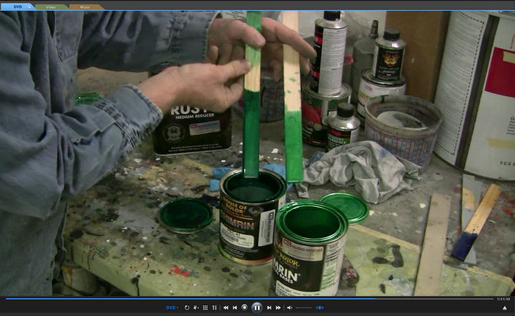 Custom Paint Tips Tricks DVD Spritz by Fritz