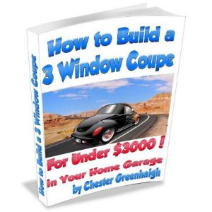 How to Build a 3 Window Coupe