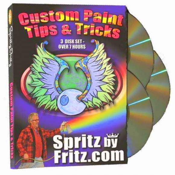 custom car paint tips tricks