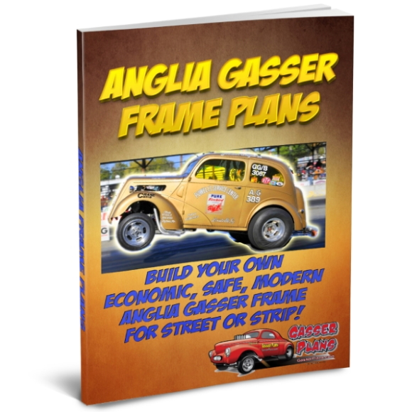 1939 to 1953 English Ford Anglia Gasser Frame Plans
