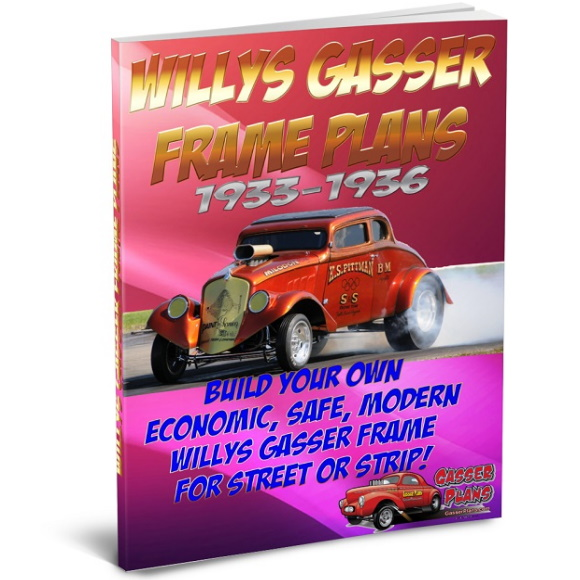 33 Willys Gasser Frame Plans