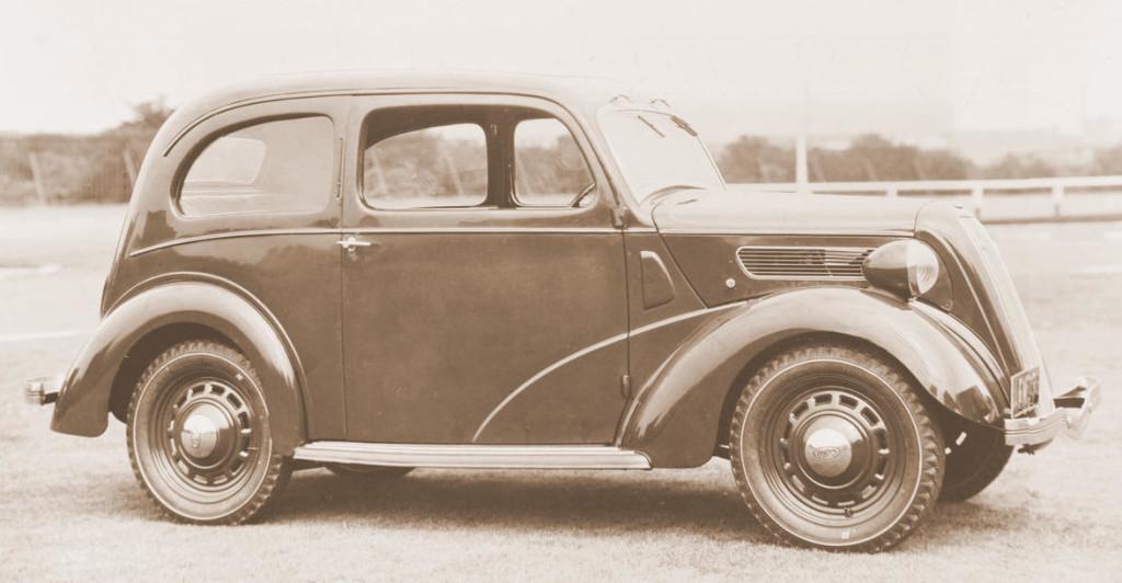 1939 to 1953 English Ford Anglia Gasser