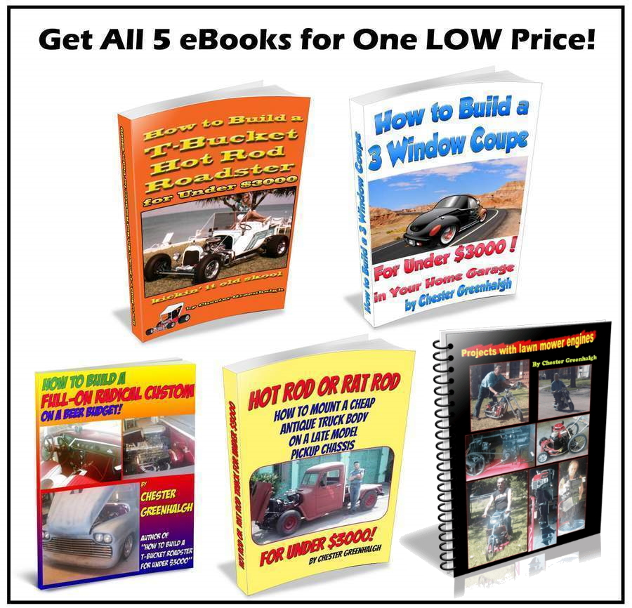 How to Build a Hot Rod eBooks Bundle