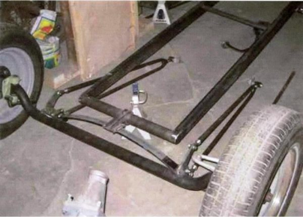 free hot rod frame plans